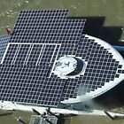 Solar Powered Boat Seen From Above by STHogan