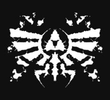 Hyrule Rorschach (white) by MightyRain