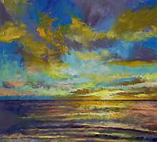 Sunset Key Largo by Michael Creese