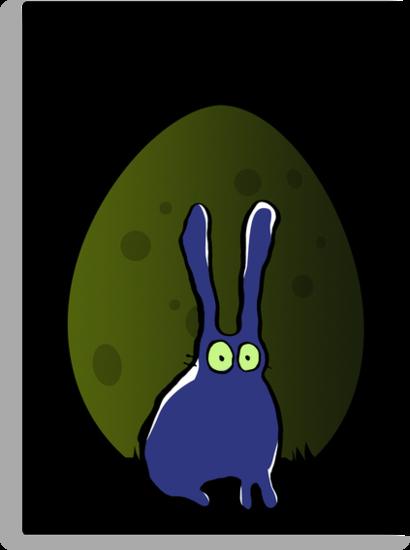 egg moon rising by greendeer