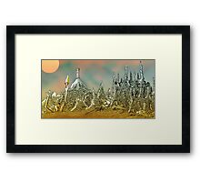 Neptune claims another Soul [Light Version] Framed Print
