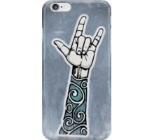Double Rock Sleeve iPhone Case/Skin
