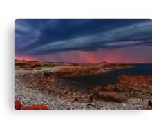 Sunset Thunderstorm at Nettley Bay Canvas Print