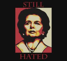Margaret Thatcher 'Hate'  by SimonKlak
