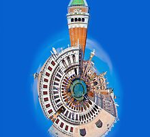 San Marco Little Planet [iPhone Case] by Sheila Laurens