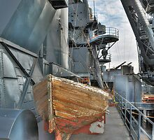 Lifeboat, Battleship Texas by venny