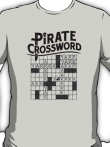Pirate crossword T-Shirt