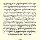 Tan Sunburst DESIDERATA by Desiderata4u