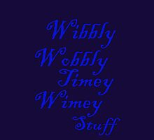 Doctor Who Wibbly Wobbly Timey Wimey by Tangledbylove