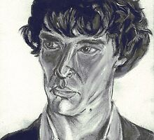 Benedict Cumberbatch by Qutone