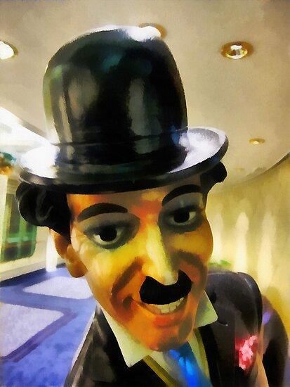 Charlie Chaplin the tramp by buttonpresser
