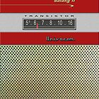 Transistor Radio - Galaxy II Red by ubiquitoid