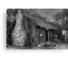 Mrs Stevens Cottage  Canvas Print