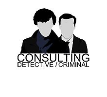 Consulting Detective/Criminal Photographic Print