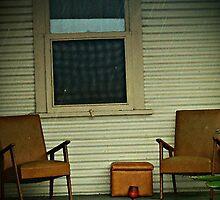 Watching the horizon, waiting for the rains. by Suzanne Newbury