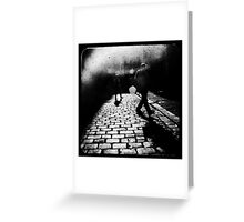 Sleepwalking Greeting Card