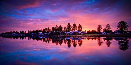 Port Fairy Sunset 1 by hangingpixels