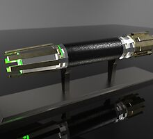 Jedi Lightsabre by Technohippy