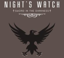Night's Watch Tee by liquidsouldes