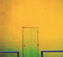 Door and Sky by Wartanddesign
