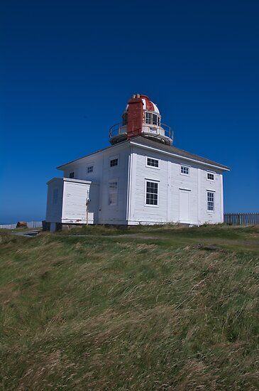 Original Cape Spear Lighthouse by JasPeRPhoto
