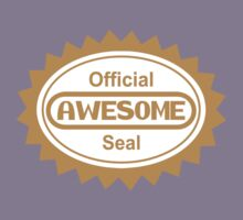 Official Awesome Seal by gorillamask
