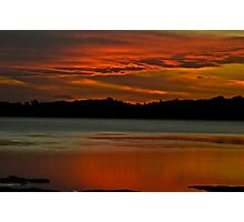 Pipe Clay Point Glow. Photographic Print