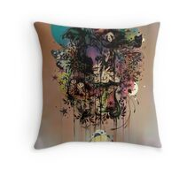 Fauna and Flora Throw Pillow