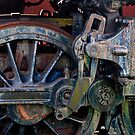 Old Steam Engine - Drive Rods by ©  Paul W. Faust