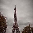 Aged Tour Eiffel by Mark Knighton