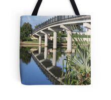 Foot Bridge Over Emerald Lake Tote Bag