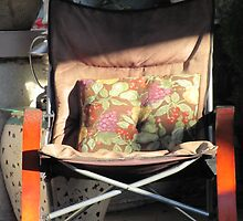 Porch chair, Lydia Street by Mike Shell