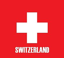 Swiss Flag iPhone Case by Jan Vinclair