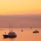 Sunrise at Cannes by David Hall