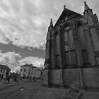 Saint Hildas church Hartlepool by David Hall
