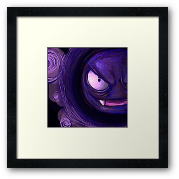 Gastly Used Night Shade!  by Shelbeawest