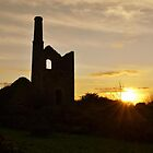 Cornish tin mine by Steve winters Photography