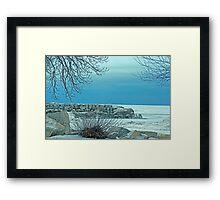 """Winter Blues"" Framed Print"