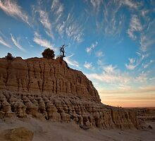 King of the Mungo - Mungo NP, NSW by Malcolm Katon
