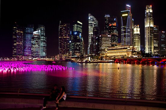 Singapore: Marina Bay & Finance District by Kasia-D