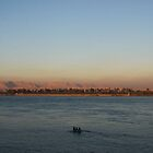 Boats on the Nile by genlloyd