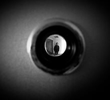 Through the peep hole by BenHedgecock
