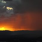 Storm Sunset by peterhau