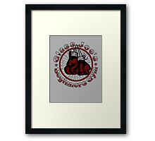 Glass Joe's Gym Framed Print