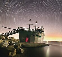 Ahoy Me Star Trails by Shannon Rogers