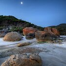 Moon Over Squeaky Beach by Matt Haysom