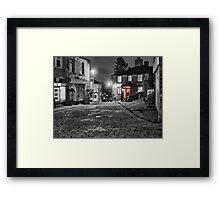 Haworth West Yorkshire - HDR Framed Print