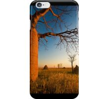Where Time Expands iPhone Case/Skin