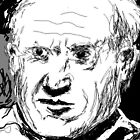 Picasso portrait -(200112)- digital artwork/mouse drawn by paulramnora