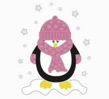 Baby It's Cold Outside [Girl Penguin] by Louise Parton